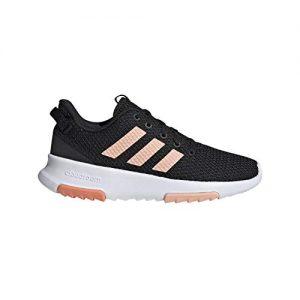adidas Unisex-Kid's Racer TR, Black/Glow Pink/semi Coral