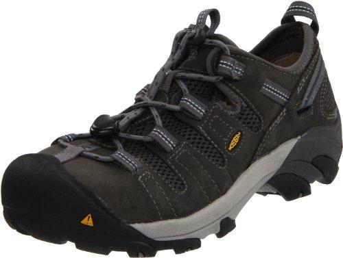 KEEN Utility Men's Atlanta Cool Low Steel Toe ESD Slip On Work Shoe
