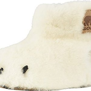 Sorel Kids Unisex Bear Paw Slipper (Toddler) Sea Salt/Beach