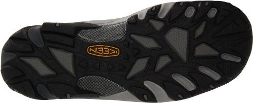 KEEN Utility Men's Atlanta Cool Low Steel Toe ESD Slip On Work Shoe KEEN Utility Men's Atlanta Cool Low Steel Toe ESD Slip On Work Shoe, 10.5D, Gargoyle Grey/Black.