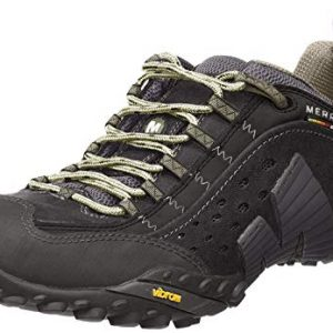 Merrell Men's Intercept Smooth Black Leather