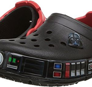 Crocs Kids' Crocband Fun Lab Darth Vader Lights Clog