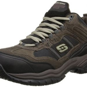 Skechers Men's Work Relaxed Fit Soft Stride Canopy Comp Toe Shoe