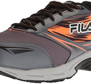 Fila Men's Memory Meiera 2 Slip Resistant Composite Toe Trail Running Shoe