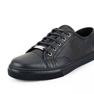 Gucci Women's Pebbled Nappa Leather Low-top Sneakers