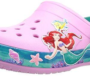 Crocs Unisex Kids CB Princess Ariel Clog K, Carnation