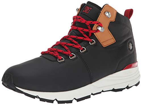 DC Men's MUIRLAND LX Fashion Boot, black/brown/black
