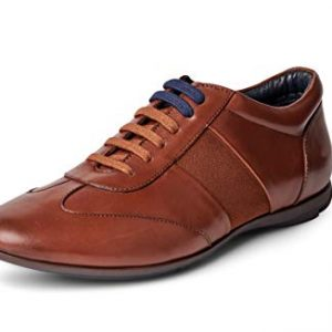 Carlos Santana Fleetwood Low-Cut Fashion Leather Sneaker Shoes