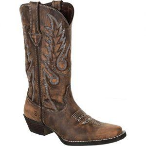 Durango Dream Catcher Women's Distressed Brown Western Boot