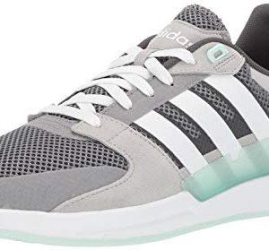 adidas Women's Running Shoe, Grey/White/ice Mint