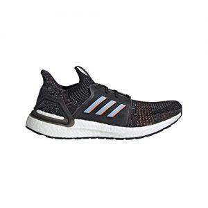 adidas Men's Ultraboost 19 Running Shoe, Black/Glow Blue/Black