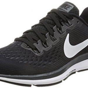 Nike Women's Air Zoom Pegasus 34 Running Shoe BLACK/WHITE-DARK