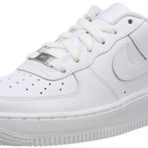 Nike Air Force 1 (GS) Big Kids Sneakers White/White