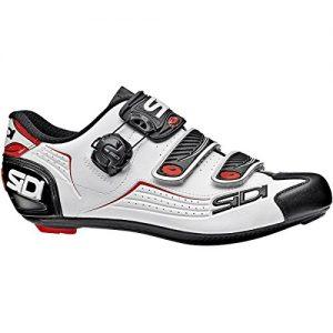 Sidi Alba Carbon Cycling Shoe - Men's Black/White/Red
