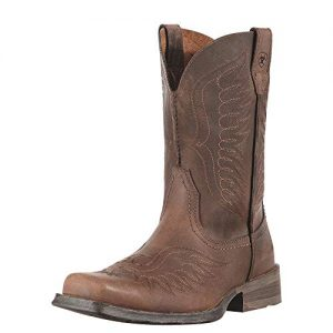 Ariat Men's Rambler Phoenix Western Cowboy Boot, Distressted Brown