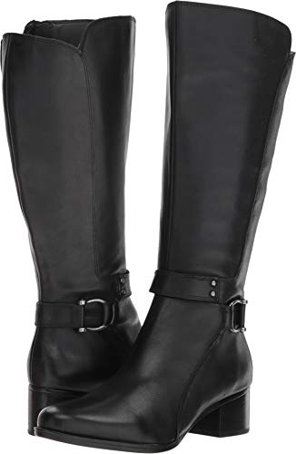Naturalizer Womens Dane Leather Almond Toe Knee High