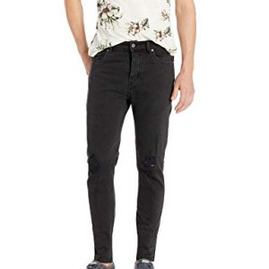 ZANEROBE Men's Joe Blow Denim, Busted Black