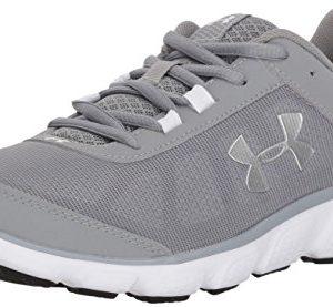 Under Armour Womens Micro G Assert 7 Running Shoe Steel