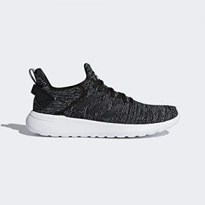 adidas Men's Lite Racer BYD Running Shoe, Black/White/Black