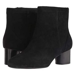 CLARKS Un Cosmo Up Womens Ankle Boots Black Suede