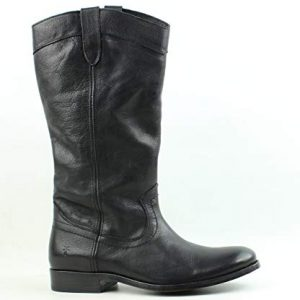 FRYE Women's Melissa Pull ON Western Boot, Black