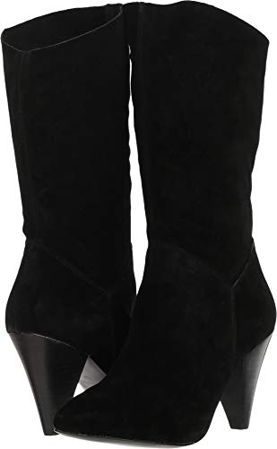 Steve Madden Womens Rein Leather Pointed Toe Mid-Calf