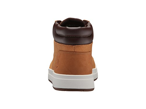 Timberland Mens Davis Square Mixed-Media Chukka Wheat Nubuck/Cordura Boot Timberland Mens Davis Square Mixed-Media Chukka Wheat Nubuck/Cordura Boot - 10.