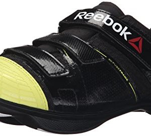 Reebok Men's Cycle Attack u-m, Black/High Vis Green/White