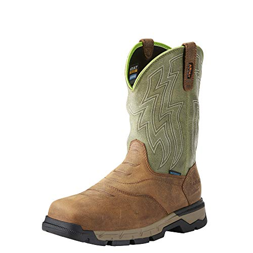 Ariat Work Men's REBAR Flex Western H2O Work Boot