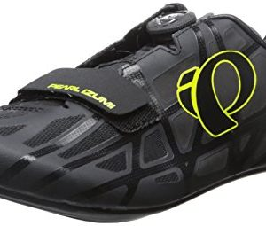 PEARL IZUMI Men's Race rd iv-m Cycling Shoe, Black/Lime Punch