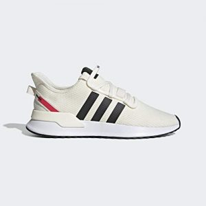 adidas Originals Men's U_Path Running Shoe, Off Off White/Black/shock Red