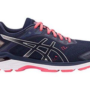 ASICS Women's Running Shoes, 9.5M, Peacoat/Silver