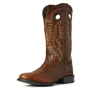 Ariat Men's Sport Big Hoss Western Boot, Brown Patina