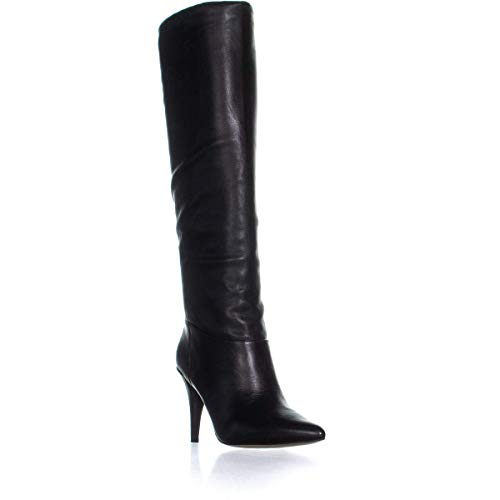 MICHAEL Michael Kors Womens Rosalyn Leather Knee-High Boots