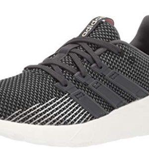 adidas Women's Questar Flow Running Shoe, Black/Grey/dust Pink