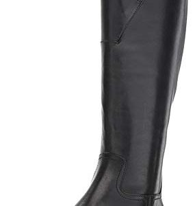 Cole Haan Women's Harrington Grand Riding Boot Black Leather