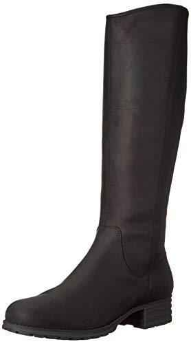 Clarks Women's Marana Trudy Fashion Boot, Black Leather