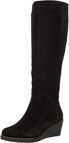 Aerosoles Women's Binocular Knee High Boot, Black Suede