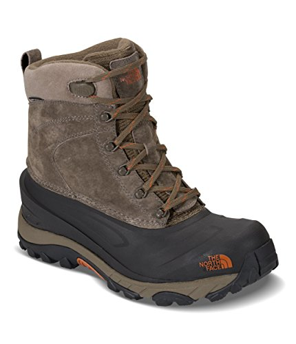 The North Face Men's Chilkat III - Mudpack Brown & Bombay Orange