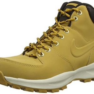 NIKE Men's Manoa Leather Boot, Haystack/Haystack/Velvet Brown