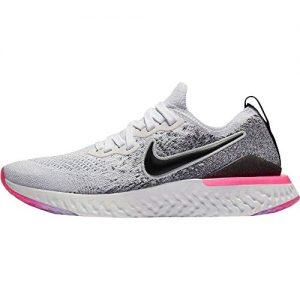 Nike Epic React Flyknit Women's Running Shoe White/Black
