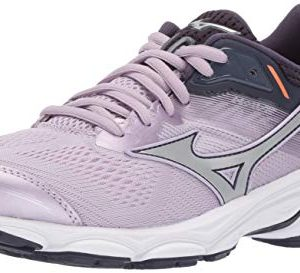 Mizuno Women's Wave Inspire Running Shoe, Lavender Frost-Silver