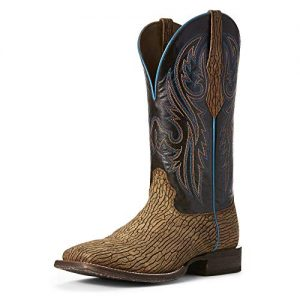 Ariat Men's Circuit Puncher Western Boot, Ancient Oak/Burbon Chocolate