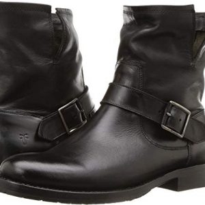FRYE Women's Natalie Engineer Short Black