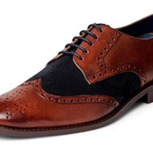 Carlos Santana Szabo Men's Designer Derby Oxford Dress Shoe