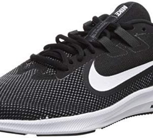 Nike Women's Downshifter 9 Sneaker, Black/White - Anthracite - Cool Grey