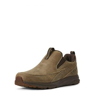 Ariat Men's Spitfire Slip On Western Boot, Brown Bomber