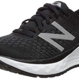 New Balance Women's Fresh Foam Running Shoe, Black/White