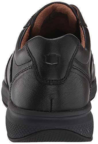 Florsheim Men's Lakes Moc Toe Walk Oxford Sneaker, Black Tumble Florsheim Men's Lakes Moc Toe Walk Oxford Sneaker, Black Tumble, 12 Wide US.