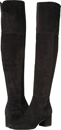 Sam Edelman Women's Elina Black Kid Suede Leather